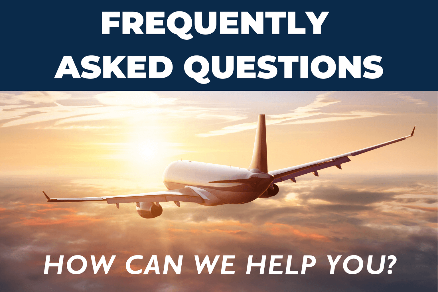 Airplane in the clouds FAQ page for NSL Aerospace and Aviation Aerospace Sealants