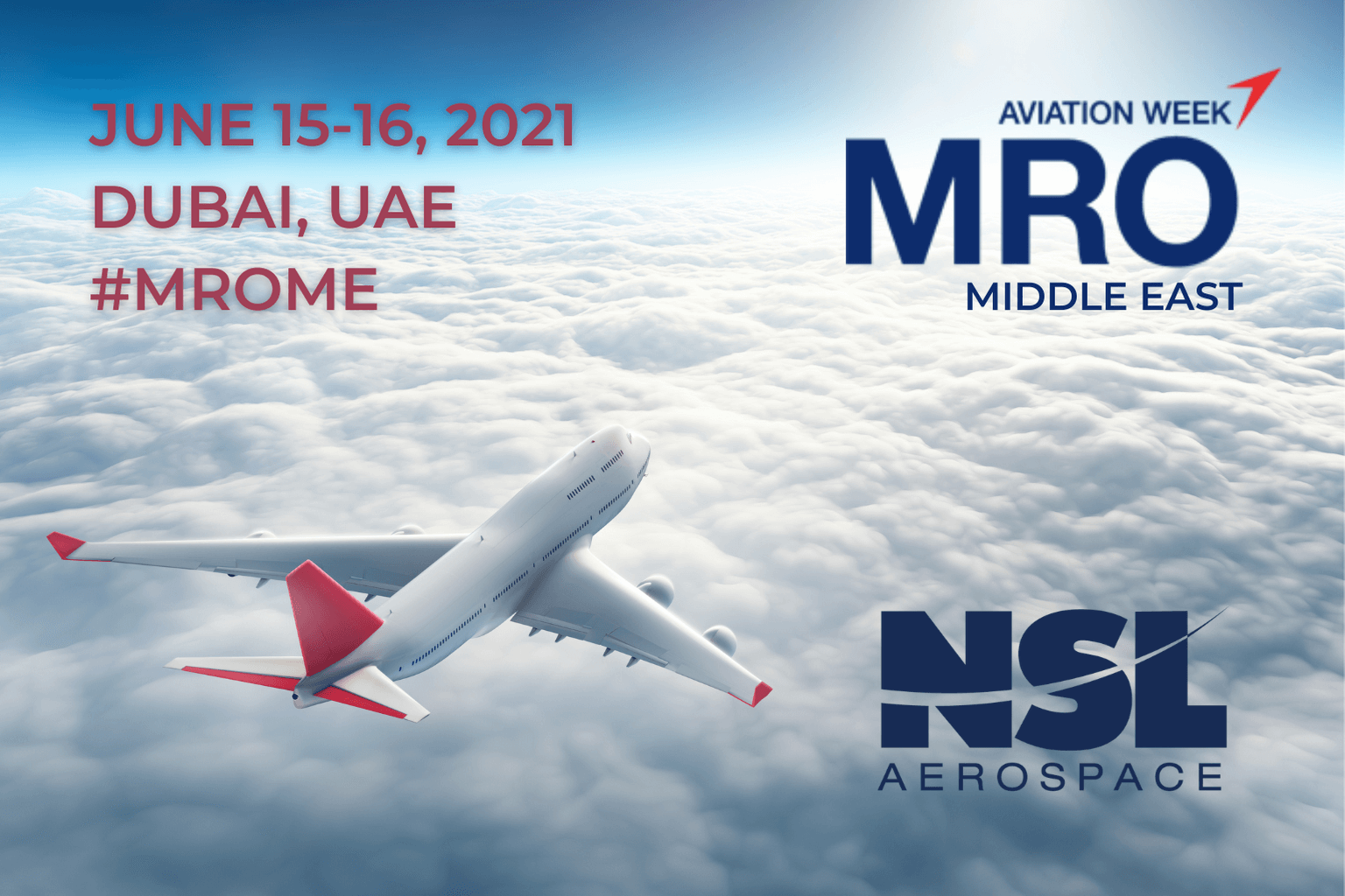 MRO Middle East Aviation Conference 2021 from June 15-16