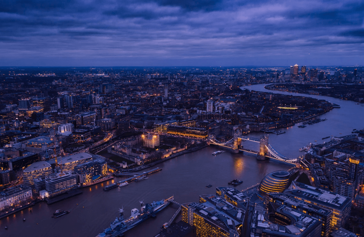 London is just one of the major U.K. cities served by NSL Aerospace.