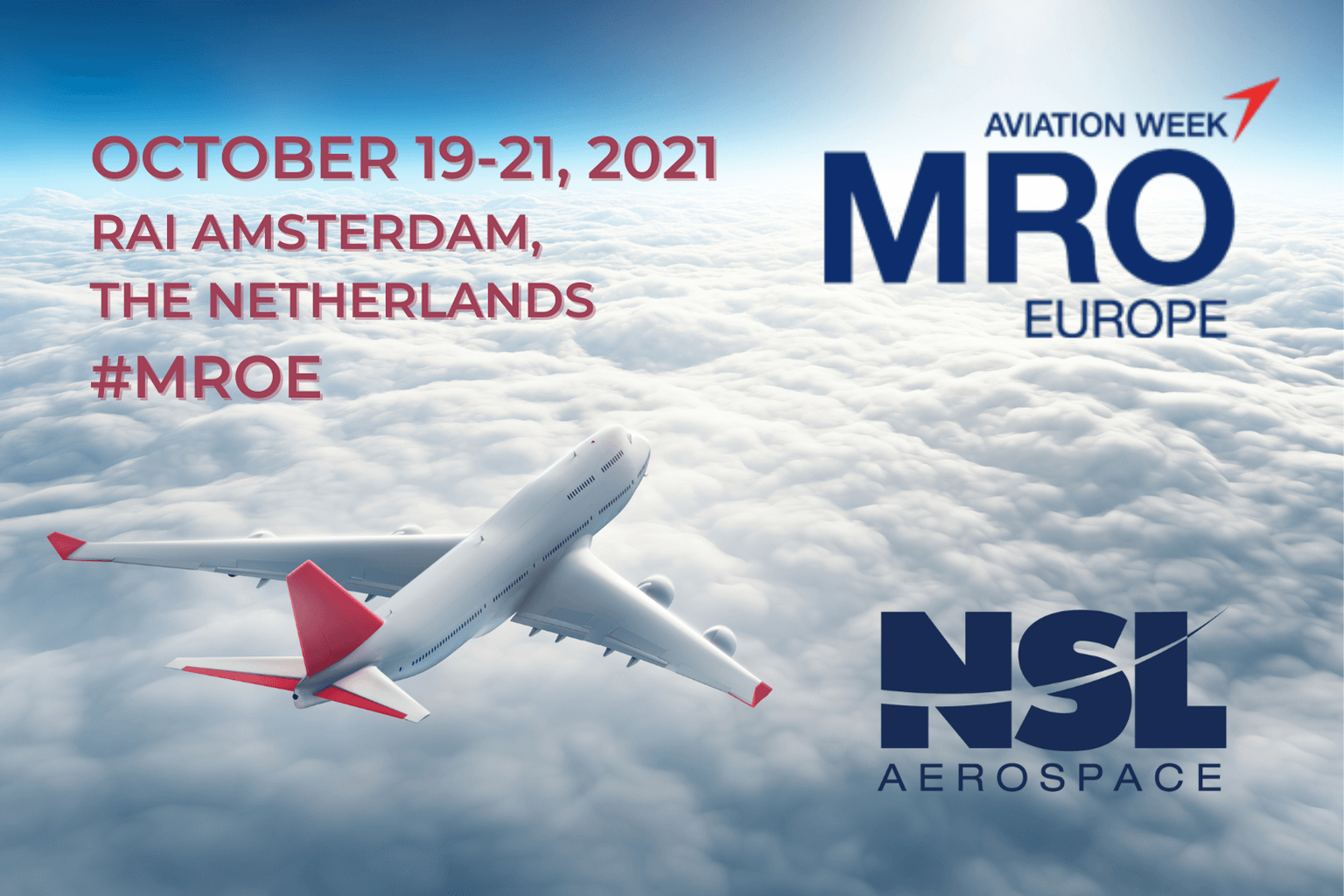 MRO Europe Aviation Conference 2021 from October 19-21