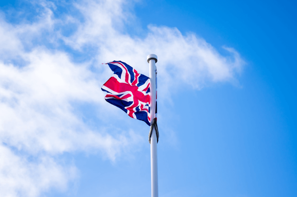 The British Flag is called Union Jack.